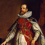 Portrait of Henry Danvers, Earl of Denbigh, in the costume of Knights of the Garter, Anthony Van Dyck