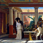 part 02 Hermitage - Boulanger, Gustave Clarence Rodolphe - Theatrical rehearsal in the house of the Roman poet