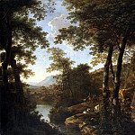 Boat, Jan – Italian Landscape with Roman soldiers, part 02 Hermitage