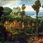 Landscape with the Flight into Egypt, Herri Met De Bles