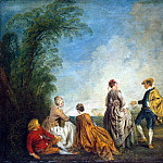 part 02 Hermitage - Antoine Watteau - Embarrassing Proposal