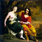part 02 Hermitage - Bol Ferdinand - Portrait of a wine merchant and his wife in the form of Bacchus and Ariadne
