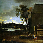part 02 Hermitage - Blanchet, Thomas - Landscape with sarcophagus