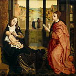 part 02 Hermitage - Weyden, Rogier van der - St. Luke painting the Madonna