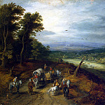 part 02 Hermitage - Brueghel, Jan the Elder - Country road