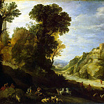 part 02 Hermitage - Bril, Paul - Mountain landscape