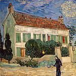 The White House at night, Vincent van Gogh