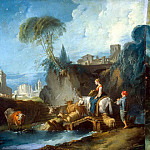 part 02 Hermitage - Boucher, Francois - Crossing the bridge