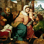 part 02 Hermitage - Bonifacio Veronese - Adoration of the Shepherds