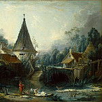 part 02 Hermitage - Boucher, Francois - Landscape around Beauvais