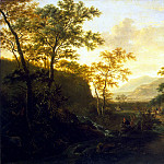 part 02 Hermitage - Boat, Jan - Italian landscape with a road