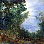 part 02 Hermitage - Brueghel, Jan the Elder - Forest Landscape
