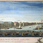 part 02 Hermitage - Vasilyev Yakov Vasilyevich - View down the Neva river between St. Isaacs Church and the Cadet Corps