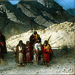 part 02 Hermitage - Bonn, Leon Joseph Florentin - Arab sheikhs in the mountains