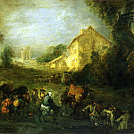 part 02 Hermitage - Antoine Watteau - Hardships of War