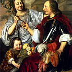 Allegorical Family Portrait, Jan De Braij
