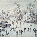 part 02 Hermitage - Brueghel, Jan the Elder - Winter landscape