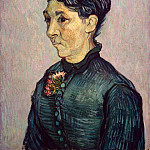 Portrait of Mrs. Trabyuk, Vincent van Gogh