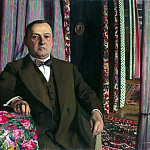 part 02 Hermitage - Vallotton Felix - Portrait of GE Haas