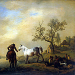 part 02 Hermitage - Vauverman, Philips - Horses at a Watering