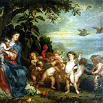 part 02 Hermitage - Van Dyck, Anthony - Rest on the Flight into Egypt
