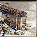 part 02 Hermitage - Boissier, Jean-Jacques de - Hut on the shore