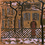 part 02 Hermitage - Bonnard, Pierre - Over the fence