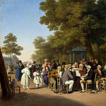 part 02 Hermitage - Boualem Louis-Leopold - Politicians in the Tuileries garden