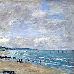part 02 Hermitage - Boudin, Eugene - Beach at Trouville