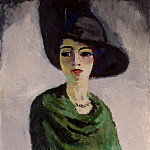 part 02 Hermitage - Van Dongen, Kees - Woman in a Black Hat