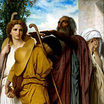 part 02 Hermitage - William Bouguereau, Adolphe William - Tobias farewell to his father