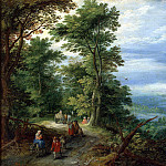 part 02 Hermitage - Brueghel, Jan the Elder - Edge of the Forest