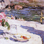 Konstantin Alekseevich (1861-1939) Korovin - At the beach. 1910