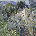 In the south of France. 1908, Konstantin Alekseevich (1861-1939) Korovin