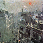 Paris. Morning. 1906, Konstantin Alekseevich (1861-1939) Korovin