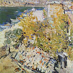 Konstantin Alekseevich (1861-1939) Korovin - the south. 1906