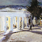 Sevastopol in the evening. 1915, Konstantin Alekseevich (1861-1939) Korovin