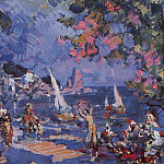 Konstantin Alekseevich (1861-1939) Korovin - Slave Market in the East. 1912