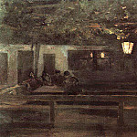 In the Spanish tavern. 1888, Konstantin Alekseevich (1861-1939) Korovin