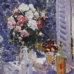 Flowers and Fruit. 1911-1912, Konstantin Alekseevich (1861-1939) Korovin