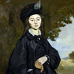Édouard Manet - Portrait of Madame Brunet