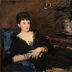 Édouard Manet - Portrait of Isabelle Lemonnier