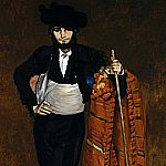 Young Man in the Costume of a Majo, Édouard Manet