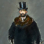 The Man with the Dog, Édouard Manet