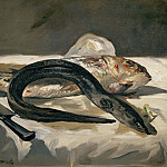 Eel and mullet, Édouard Manet