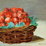 Strawberry basket, Édouard Manet