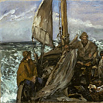 Édouard Manet - The Toilers of the Sea