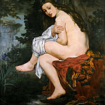 The Nymph, Édouard Manet