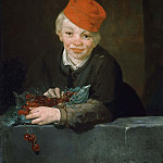 Édouard Manet - Boy with cherries