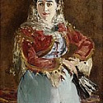 Édouard Manet - Portrait of Émilie Ambre as Carmen